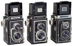 3 Zeiss Ikon Ikoflex TLR-Kameras