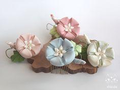 朝顔✩夏の花を添えて。 ミニコーム ⋞ 水色 ⋟画像1