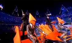 Pet Shop Boys at the Olympics closing ceremony London 2012