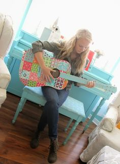 I WANT THAT GUITAR!  Even though.. I don't.. actually.. know how.. to.. play?