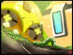 Part4Knowing the nature with Bastion and Orisa p.4 by miyuu490.deviantart.com on @DeviantArt