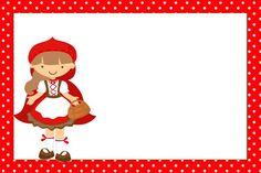Piroska és a farkas - Komplett készlet keretek meghívók, címkék snackek, ajándéktárgyak és képek!