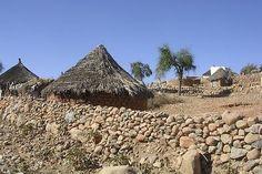 Traditional village - Barentu #Eritrea. #Expo2015 | Cluster Arid Zones