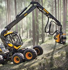 Ponsse Scorpion Forest Machine Ponsse Oyj by LINK Design and Development Oy