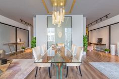 Showroom, Dining Table, China, Elegant, Luxury, Interior, Furniture, Home Decor, Style