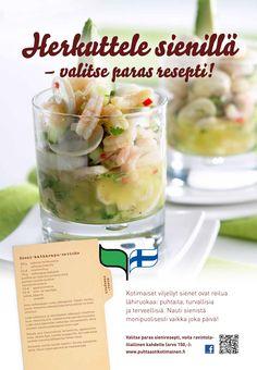 Puhtaasti kotimainen - Herkuttele sienillä. 2013 Ceviche, Cantaloupe, Fruit, Food, Essen, Meals, Yemek, Eten