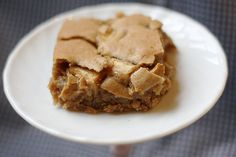 apple pie bars - a little messy, but a favorite of the teachers I baked it for