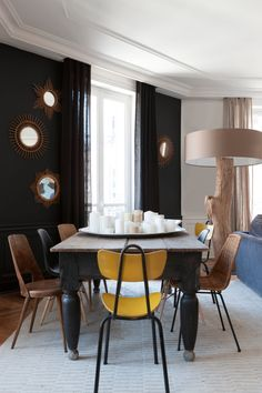 1000 images about realisations de nathalie rives on pinterest lyon zermatt and george nelson. Black Bedroom Furniture Sets. Home Design Ideas