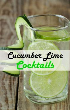 This breezy Cucumber Lime Cocktail does not have an overpowering alcohol taste. Sometimes I prefer something refreshing where you can't necessarily taste the alcohol. The drink should come out frothy and almost a little creamy. This cocktail would be great for summer parties, but is tasty during any season!