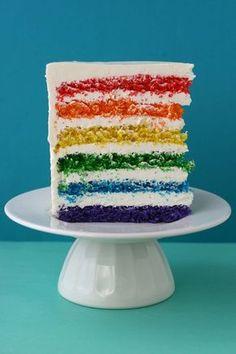 La Cestita de Caperucita: Receta de la tarta Arco Iris ( la de mi amigo Luis)