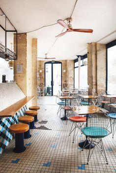 Salle restaurant Carrelage Fichon restaurant Paris