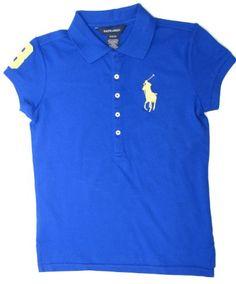 Polo Ralph Lauren Girls Big Pony Stand Collar « Clothing Impulse