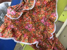Dress for girls age 5-7 years. Vintage USSR от AllForHappyAndLoveV