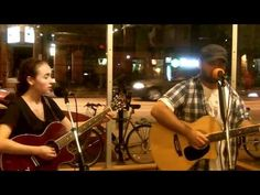 """Sarah Spurgeon & Rob Dobson """"Falling Slowly"""" (cover) LIVE @ The Root Cafe - YouTube"""