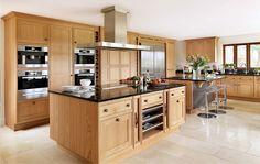 Smallbone of Devizes | Oak Kitchen Furniture Collections | Oak Kitchen Designs Vegetable drawers
