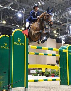 Scott Brash & Hello Sanctos Winner of the Geneva - Rolex Grand Slam Show Jumping 2014 Majestic Horse, Beautiful Horses, Horse Girl, Horse Love, Horse Wallpaper, Hunter Jumper, Horse Photos, Show Jumping, Wild Horses