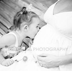 Kissing her sister