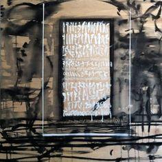 2013, Ink on wood, 170x170cm