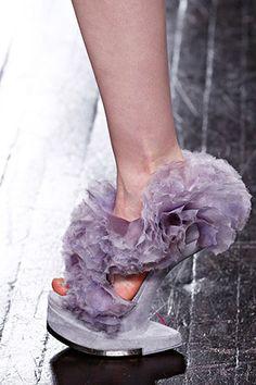 Alexander McQueen Fall 2012 RTW shoes Repinned by www.fashion.net