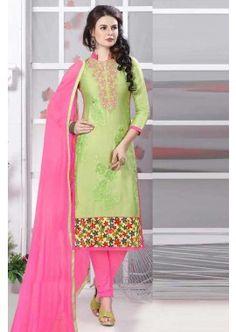pista couleur verte glace coton salwar kameez, - 81,00 €, #Robeindienne #Tenueindienne #Salwarkameezfemme #Tenuepakistanaise #Robeindiennemariage #Shopkund