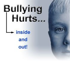 Bullying is unbearable especially for kids at a very young age. It does not have to be physical contact, words or actions can hurts inside and out to the point that you feel discomfort.