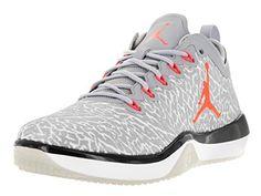 huge selection of 83a22 9da7f Nike Jordan Mens Jordan Trainer 1 Low WhiteInfrared 23 Wolf Grey Training  Shoe 9 Men US