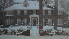 Family christmas in the snow. I'd spend all my holidays here. It's beautiful. Hopefully not Home Alone though.