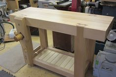 David Barron Furniture: Roubo Work Bench Finished!