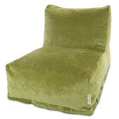 Majestic Home Goods 85907260330 Villa Apple Bean Bag Chair Lounger