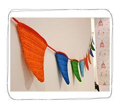 Guirnalda crochet Cumpleaños « Papel Picado Kids