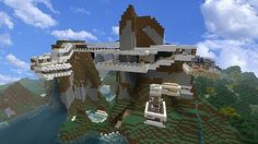 Minecraft Modern Mountain Houses Minecraft House Ideas Concepts