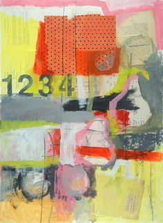 laurie breen--contemporary still-life and figurative paintings & art for children's spaces: abstract