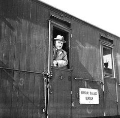 Ali Saim Ülgen on the Burdur train (date unknown) SALT Research, Ali Saim Ülgen Archive  Ali Saim Ülgen Burdur treninde (tarihi bilinmiyor) SALT Araştırma, Ali Saim Ülgen Arşivi
