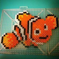 Disney Nemo perler beads by joshuas_creations