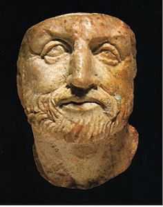 Ivory head of Philip II