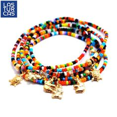 Como nos gustan los colores!!! #LasTurcas #accesorios #TiendaOnline I Love Jewelry, Diy Jewelry, Jewelry Making, Braclets Diy, Beaded Bracelets, Hippy Chic, Anklet, Jewerly, Beads