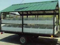 Open Sided produce trailer (1 axle)