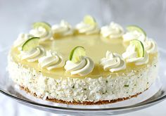 Margarita Cream Cake from The Galley Gourmet....must, must, must try this one!