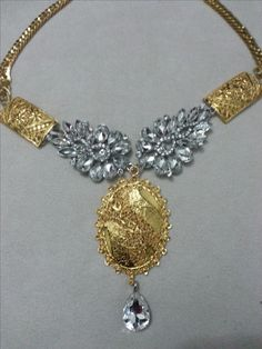Statement necklace from mimi's collection. For orders, please email us at : coloursforaccessories@hotmail.com
