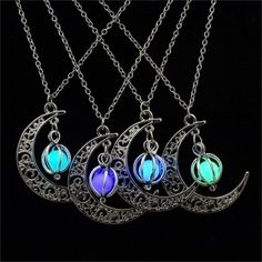 Sailor Moon Crescent Pendant Necklace that GLOWS in DARK Women Jewelry! #GlowInTheDark #Women's #Necklace #Ideal #Gifts #Christmas #Gift #Glows #In #Dark #Hot #New #Collection #Release #Follow us to be the first to know about our latest updates! #♥