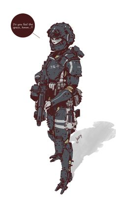 ArtStation - Sci-fi/military dudes & babes..., Gregory Vlasenko