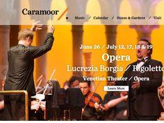 Festival Websites, Lucrezia Borgia, Calendar Home, Opera, Learning, Music, Musica, Musik, Opera House