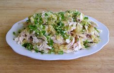 Traditional Chinese Recipes: Jiang Ji Si (Shredded Ginger Chicken)