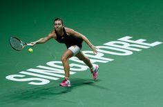 tenis simona halep wta finals (Foto: Getty Images)