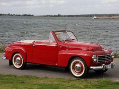 1950 Volvo PV444 445 Cabriolet convertible