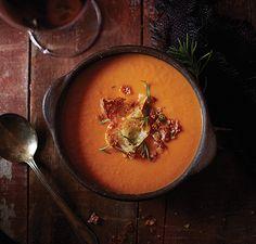 Vitamix | Tuscan Tomato White Bean Soup
