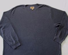 The Foundry Supply Men T Shirt 4XLT Gray Solid Crew Thermal Cotton 1700D #TheFoundrySupply #BasicTee
