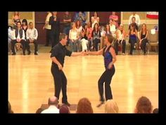 Watch west coast swing champions Robert Royston & Brandi Tobia perform a jack & jill dance that looks entirely choreographed. This is the epitome of what jack & jill dancing is all about. LOVE the slow dance at the beginning of this!