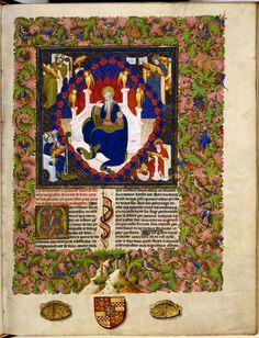 Cité de Dieu (first volume). St. Augustine. Paris, early fifteenth century. Vellum, 339 leaves, 423 x 330 mm. 72 A 22, fol. 6r
