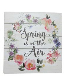 Wild Blooms Wall Decor-Spring is in the Air